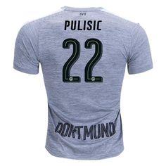 1d48b62744d Borussia Dortmund 17 18 Third Jersey Pulisic  22. Shinji KagawaSoccer ShopManchester  ...