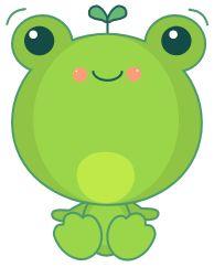 Kawaii Vector Frog by sicara-deviant on DeviantArt