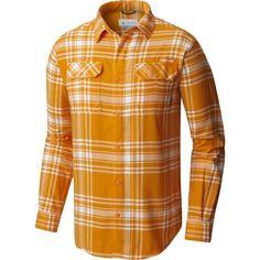 847e52b6485 Columbia Men's Tennessee Volunteers Tennessee Orange Plaid Flare Gun  Flannel Long Sleeve Shirt