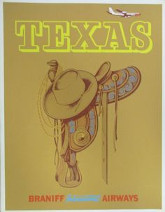 Texas - Braniff Airways
