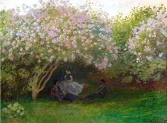 Lilacs, Grey Weather - Claude Monet