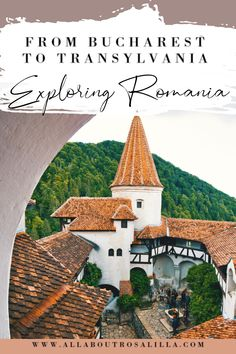 A guide on the best things to do in Romania. From a weekend in Bucharest to exploring Transylvania. Stop by the idyllic cities of Brasov, Sighisoara and Sibiu and the most fairytale like castles. Everything you need to know to plan the perfect Romania trip | Bucharest | Romania | Transylvania | Things to do in Romania | Weekend in Bucharest | #romaniatravel #thingstodoinromania #romania #bucharest #weekendinbucharest #transylvania #romaniancastles #fairytalecastles