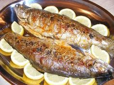 Pastrav Fish And Seafood, Steak, Pork, Food And Drink, Tasty, Dinner, Cooking, Foods, Recipes