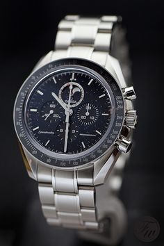 Omega Speedmaster Professional Moonphase with Aventurine dial.