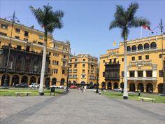 Lima Perù  Plaza Major