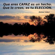 Es tan fácil como creértelo! Todo está en TU MENTE! #anabelycarlos #año2015 Cambia tus pensamientos y cambiara TU vida blog.carlossanin.com