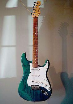 Fender Custom Shop Stratocaster #FenderGuitars