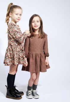 Quenotte winter 2013 beautifully made girls fashion from France