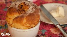 Bagel, Camembert Cheese, Muffin, Pudding, Bread, Breakfast, Recipes, Food, Caramel