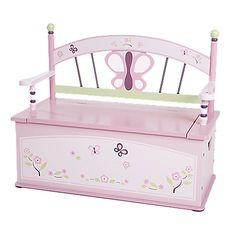 This heirloom-quality toy box/bench combo works triple-duty, providing storage, seating, and decorative charm.