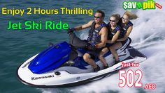 Get super charge for 2 hours with Havful Water Jet Ski and save up to 33% OFF.