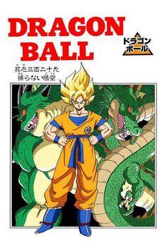 Goku, Shenron, and Porunga
