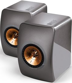 KEF LS50 Speakers Titanium Grey - Limited Edition (Pair)