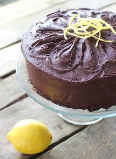 Lemon Cake with Chocolate Fudge Frosting http://sulia.com/my_thoughts/19dc3bff-e949-41ef-b7e9-437d6b181dae/?source=pin&action=share&btn=small&form_factor=desktop&pinner=46536771