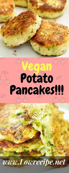 Vegan Potato Pancakes!!! - Low Recipe