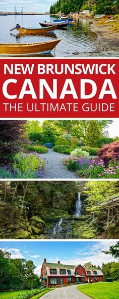The best travel guide to New Brunswick Canada. We share what to do in New Brunswick restaurants hotels historic sites driving routes and much much more. Visit this gem on Canada's Atlantic coast. Banff, British Columbia, Quebec, East Coast Travel, East Coast Road Trip, Montreal, Ontario, Toronto, Places To Travel