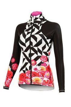 Spring blooms with the new women's Kleo Bloom Virtue Jersey from shebeest!