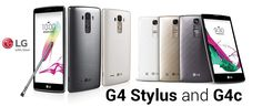 In May 2015 LG Released LG G4c & LG G4 Stylus.