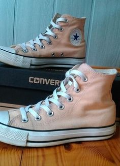 Kup mój przedmiot na #Vinted http://www.vinted.pl/kobiety/obuwie-sportowe/9812520-morelowe-converse-39-za-kostke-dlugie