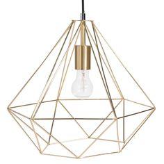 Lampada a sospensione in metallo D 40 cm   Maisons du Monde