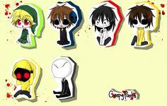 cute creepypasta pics | Creepypasta Chibi Creepypasta chibi!!! by