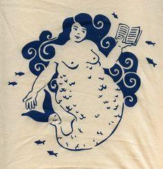 Fat Mermaid t-shirt - superpunch.net