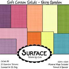 Surface - Soft Cotton Solid - Fairy Garden Contact | Flickr - Photo Sharing!