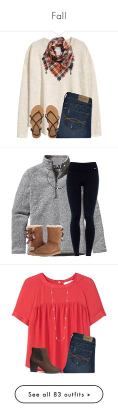 Fall by ponyboysgirlfriend ❤ liked on Polyvore featuring HM, Abercrombie Fitch, Billabong, BP., Patagonia, NIKE, UGG Australia, MANGO, Kate Spade and Birkenstock
