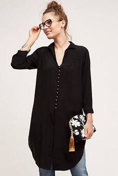 - Ceycen Tunic Blouse, Black by HD in Paris Blouse Outfit, Tunic Blouse, Tunic Tops, Smock Tops, Black Tunic Dress, Shirt Dress, Fashion Casual, Fashion Outfits, Womens Fashion