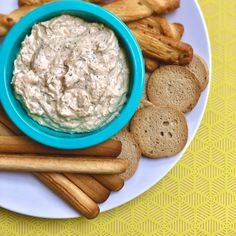 Find seafood inspirations & meal ideas in Let's Eat. This easy smoked salmon dip is the perfect app and only takes 5 minutes! Smoked Salmon Dip, Crushed Red Pepper, Green Onions, Allrecipes, Sour Cream, Refrigerator, Cooking Tips, Highlight