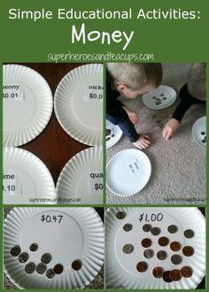 Simple Educational Activities: Money