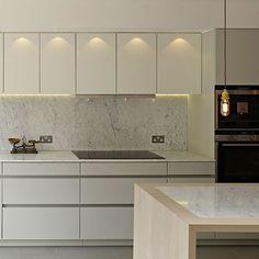 Hillier ~ Modern Kitchen Design ~ Royal Mosa Tiles ~ Interior Design @ Material Plans