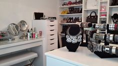 Beauty Room, Vanity, Mirror, Furniture, Home Decor, Vanity Area, Homemade Home Decor, Lowboy, Dressing Tables