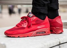 Nike Air Max 90 Hyperfuse Independence Day Red - 2013 (by seejaysneakers)