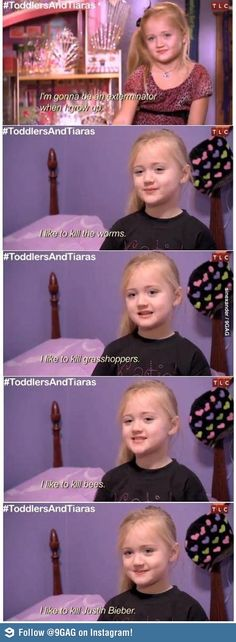 """Toddlers and Tiaras. """"And the ultimate grand supreme goes to..."""""""