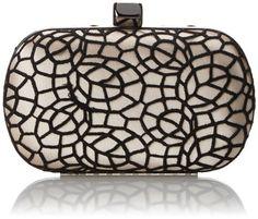 Jessica McClintock Crochet Lace Minaudiere Evening Bag,Champagne,One Size Jessica McClintock, $69 @ Amazon.com