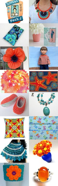 Complementary Colors by Celebration Times by Virginia Soskin on Etsy--Pinned+with+TreasuryPin.com