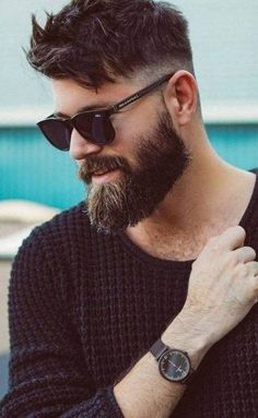 Every men is getting fade hairstyles for him day by day.To make it easy for you, we have shortlisted 30 top fade hairstyles for men in Smart Hairstyles, Mens Medium Length Hairstyles, Trendy Mens Haircuts, Mens Hairstyles With Beard, Men's Hairstyles, Long Beard Styles, Hair And Beard Styles, Hair Styles, Medium Beard Styles