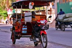 The Cambodian tuk-tuk, which has put most cyclo drivers out of business.