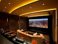 Gold tones: Yes or no? >> http://www.hgtvremodels.com/interiors/cedia-2013-home-theater-finalist-attention-grabber/pictures/index.html?soc=cediaparty