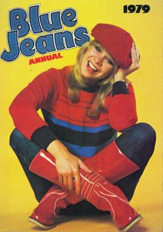 Blue Jeans annual 1979 I can remember this annual but I would have only been three. It must have belonged to one of my cousins. 1980s Childhood, Childhood Memories, Music Magpie, My Youth, Mid Century Style, Great Memories, Old Toys, My Children, Blue Jeans
