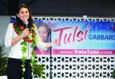 TULSI GABBARD IS THE BEST CHOICE TO REPRESENT HAWAII  http://votetulsi.com/news/2012-04/tulsi-gabbard-best-choice-represent-hawaii