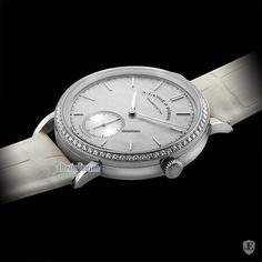 A. Lange and Sohne Saxonia Mother-Of-Pearl and Diamond Watch - WORLD OF LUXURY Pink And Gold, White Gold, Rose Gold, A Perfect Circle, Queen, How To Slim Down, Pure Beauty, Articles, Pure Products