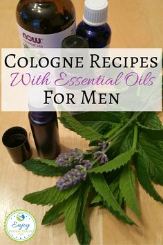 Need a gift idea for your man? Check out these cologne recipes that smell AMAZING! Great for birthdays, Father's Day, and just because ;)