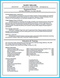 Nursing School Resume Registered Nurse Resume Sample  Work  Pinterest  Registered