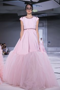 A look from the Giambattista Valli Spring 2015 Couture collection.