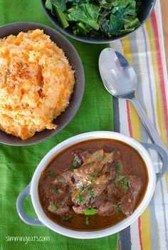 Slow Cooked Sweet Onion Braised Beef | Slimming Eats - Slimming World Recipes