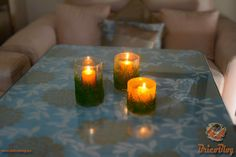 Luminarias y candelabros decorativos DIY. Vamos con una nueva manualidad, que igual te viene muy bien como decoración navideña. Son muy fáciles y rápidos de hacer pero, a la vez, muy vistosos. https://www.bricoblog.eu/luminarias-decorativas-de-vidrio/ #candelabros #luminarias #navidad #diy