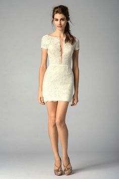 Short Wedding Dresses with Luxury Details - MODwedding