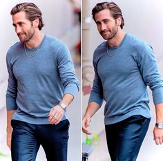 Jake arriving at the 'Jimmy Kimmel Live' Studios in Los Angeles (May Jake Gyllenhaal, Donnie Darko, Gorgeous Men, Beautiful People, I Need A Boyfriend, Slicked Back Hair, Jimmy Kimmel Live, Hollywood Actor, Actor